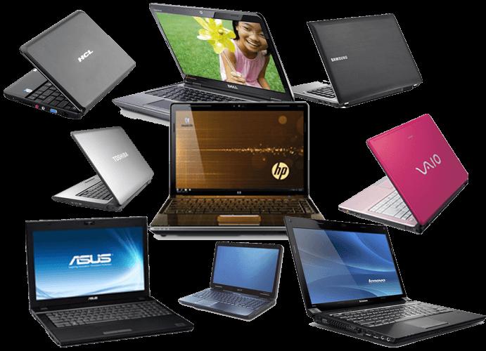 انواع مدل لپ تاپ