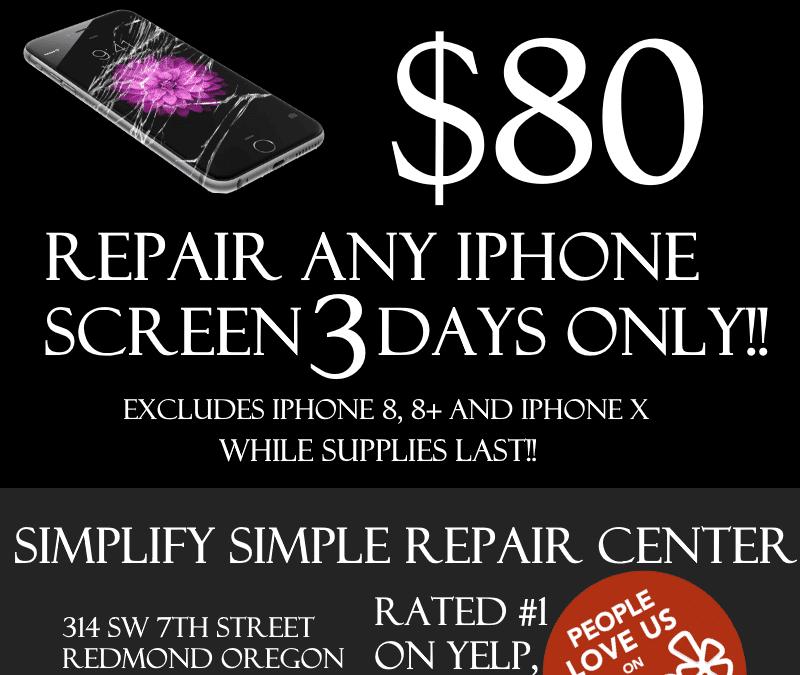 BLACK FRIDAY IPHONE REPAIR SALES
